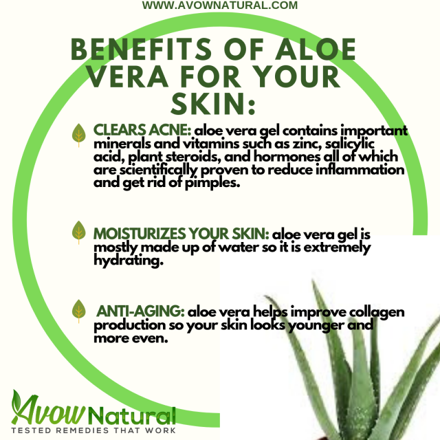DOES ALOE VERA HELP WITH ACNE? – AVOWnatural